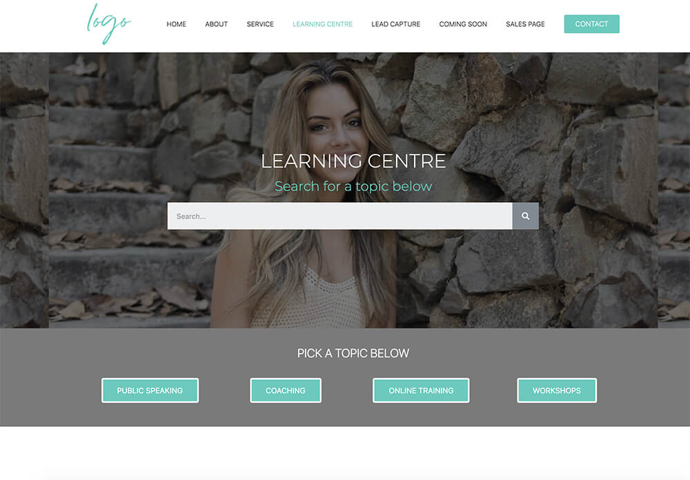 learning-centre-template