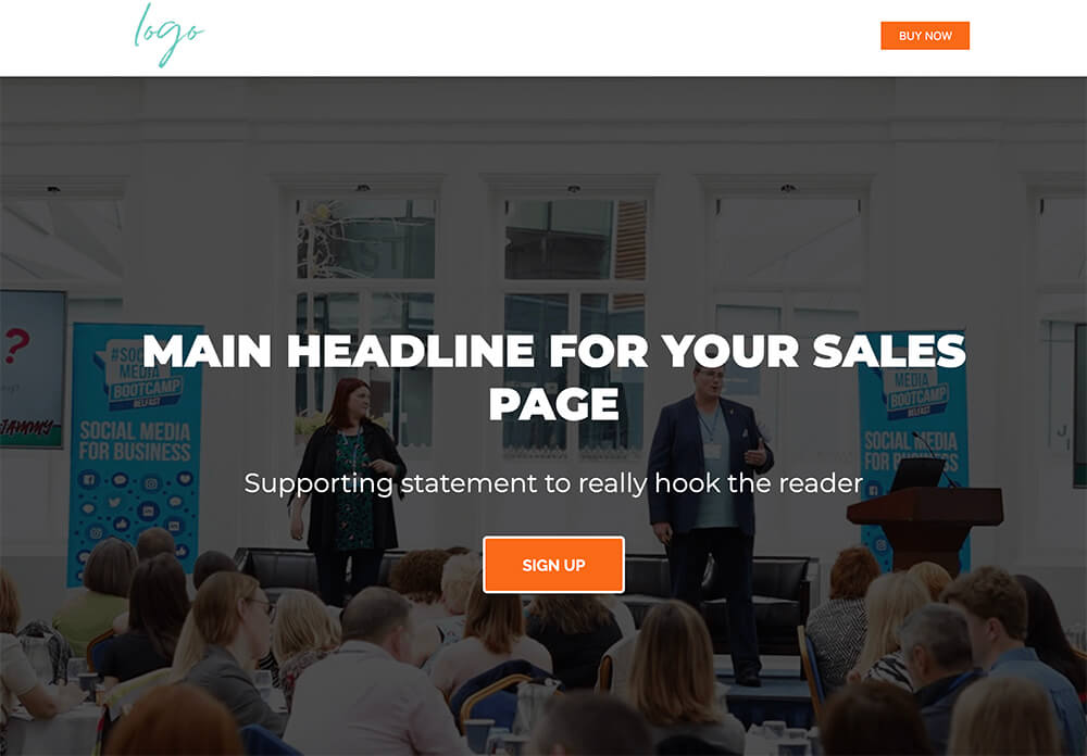 sales-page-template